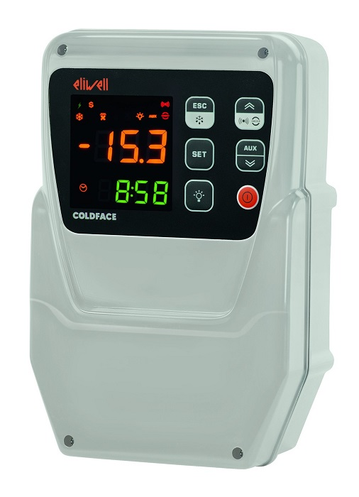 Coffrets de r gulation pour chambre froide ventil e ou for Thermostat chambre froide